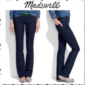 Madewell Bootlegger Dark Bootcut Jeans 27x34